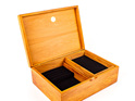 jewellery box with lift out tray - black