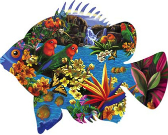 Jigsaw Puzzles With Unusual Shapes