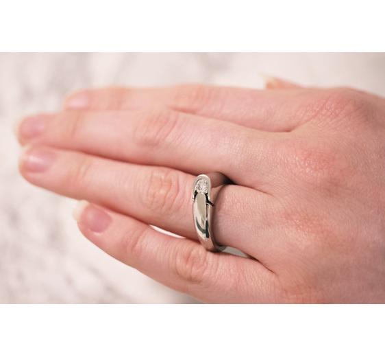 Jigsawd Modern Ring