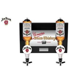 Jim Beam wall mounted double dispenser