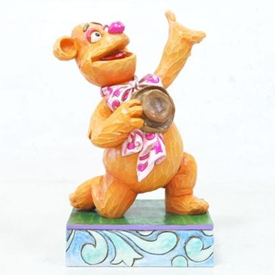 Jim Shore - Disney - Wakah Wakah-Fozzie Figurine