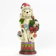 Jim Shore Heartwood Creek Christmas Dog Nutcracker
