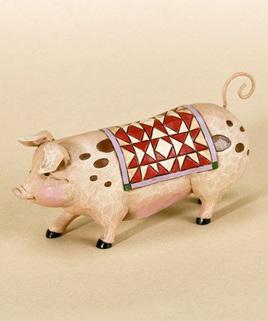 Jim Shore Heartwood Creek Mini Pig