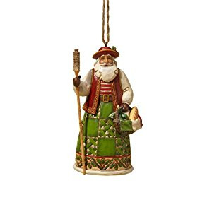 Jim Shore Heartwood Creek Small Italian Santa