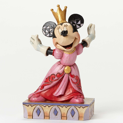 Jim Shore - Minnie Queen for the Day