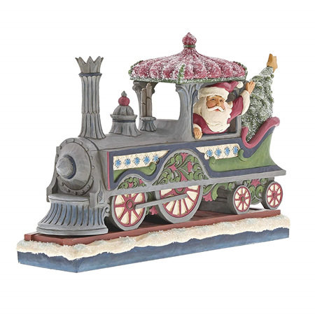 Jim Shore - Santa in a Train