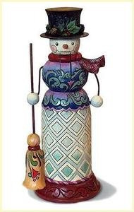 Jim Shore - Snowman Nutcracker Figurine