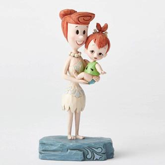 Jim Shore - Wilma and Pebbles - Ornament