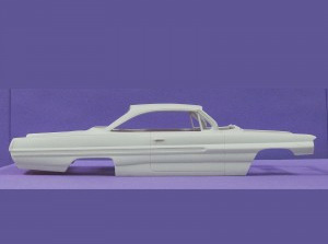 Jimmy Flintstone Resin 1/25 NB114 - 1962 Catalina