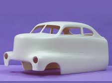 Jimmy Flintstone Resin 1/25 NB140 - 1949 Mercury Cab Over truck