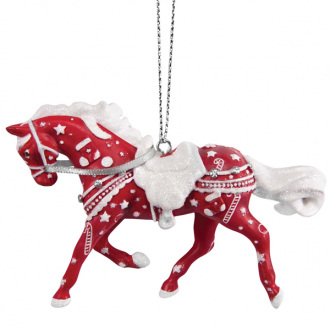 Jingle Bling Painted Pony hanging ornament