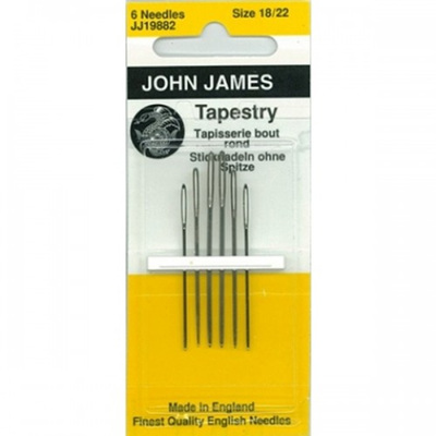 JJ Needles - Tapestry size 18/22