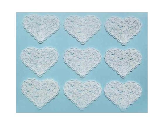 JJ4205   Lace Heart