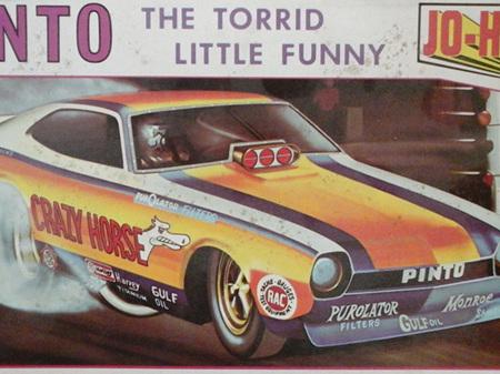 Jo-Han 1/25 Pinto Funny Car