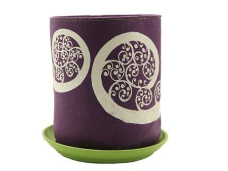 Jo Luping Design Ecofelt Ponga Grow Bag Purple