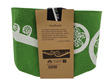Jo Luping Ecofelt Grow Bag Fern Frond on Light Green