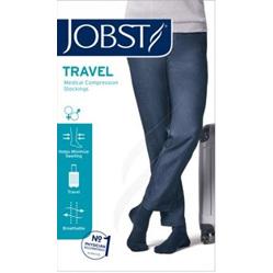 JOBST TRAVEL SOCKS SIZE 2 BLACK