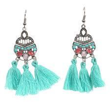 Jocelyn Earrings Turquoise
