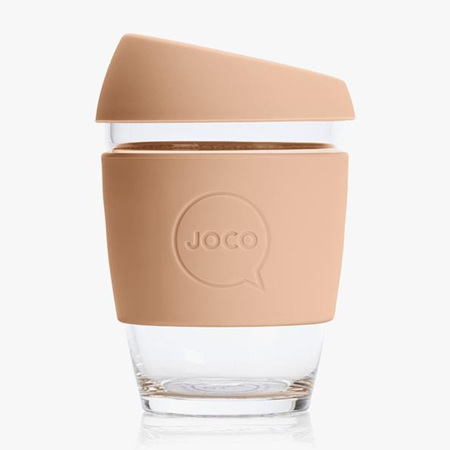 Joco Glass Travel Cup Amberlight