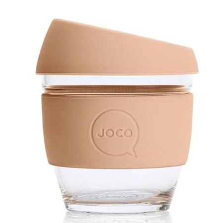 Joco Glass Travel Cup Buttermilk