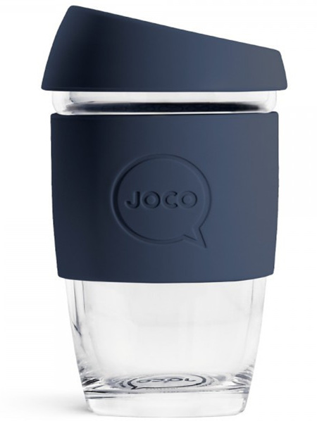 Joco Glass Travel Cup Mood Indigo