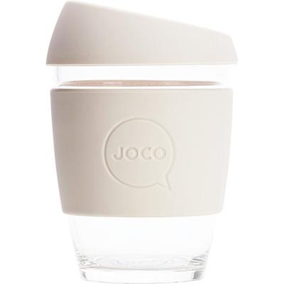 Joco Glass Travel Cup Sandstone 355