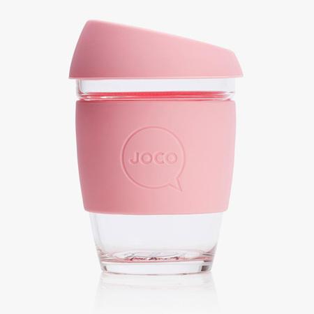 Joco Glass Travel Cup Strawberry