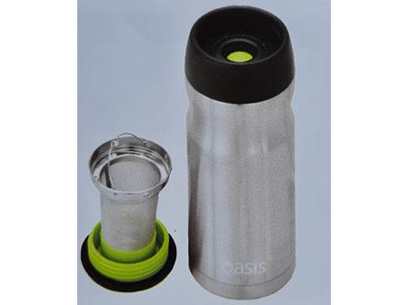 Joemo Stainless Steel Travel Mug w Tea Infuser