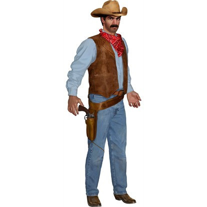 Jointed Cowboy 890mm tall