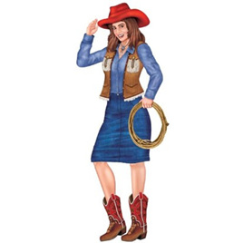Jointed Cowgirl 3""