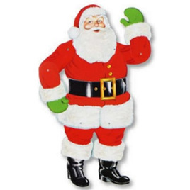 """Jointed Santa - 29"""""""