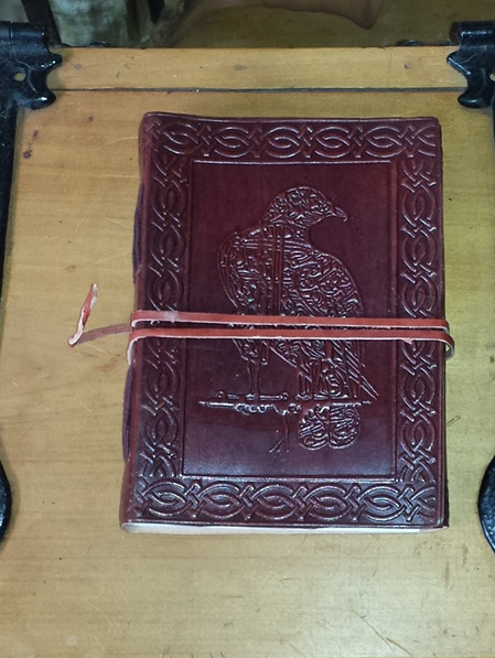 Journal 1 - Journal with Celtic Raven