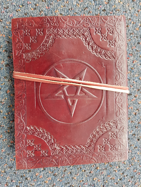 Journal 11 - Journal with Pentagram