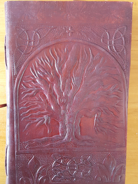 Journal 13B - Larger Journal with Tree of Life