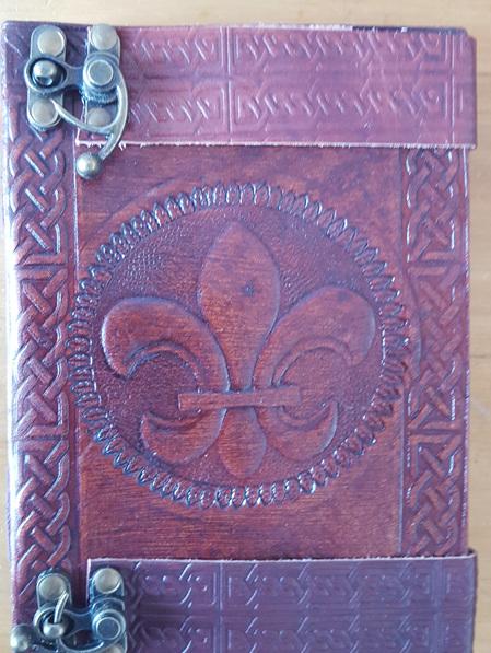 Journal 17 - Journal with Fleur de Lis