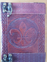 Journal 17 - Journal with Fleur de Lis