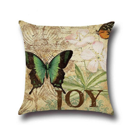 JOY BUTTERFLY CUSHION COVER