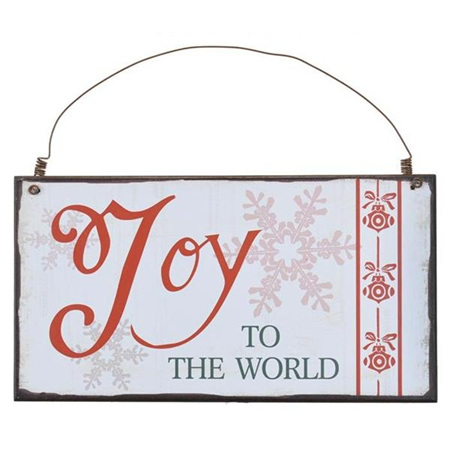 JOY to the World wooden Sign