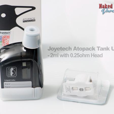 Joyetech Atopack Tank Unit - 2ml with 0.25ohm Head