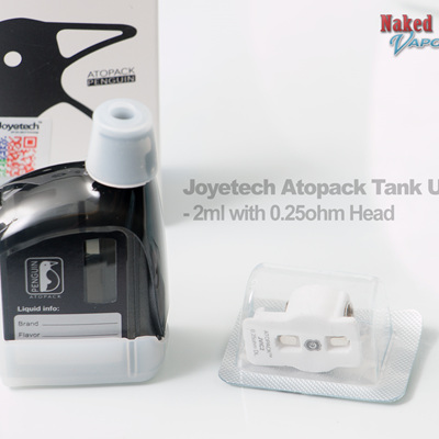 Joyetech Atopack Tank Unit - 2ml with 0.25ohm Head