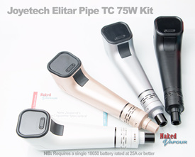 Joyetech Elitar Pipe TC 75W Kit