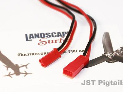 JST Pigtails - 2 Pair