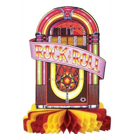 Juke Box Tissue Centre Piece 250mm