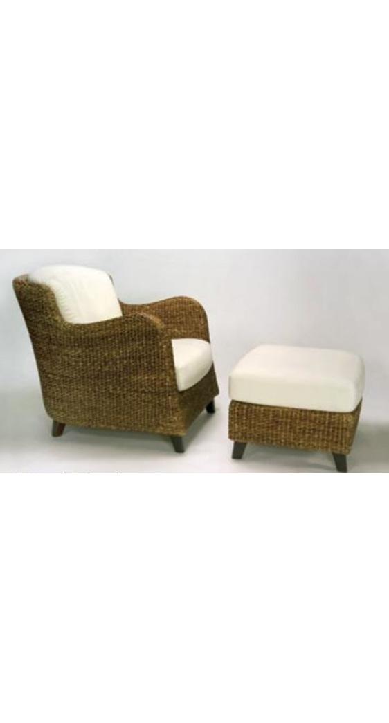 Jules Armchair Water Hyacinth New Zealand Furniture