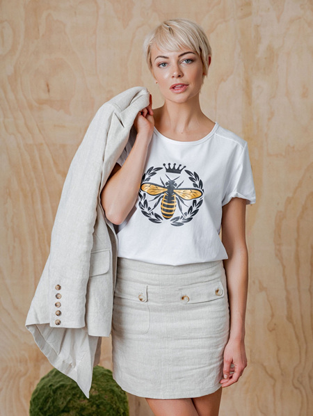 Jules Skirt - Natural