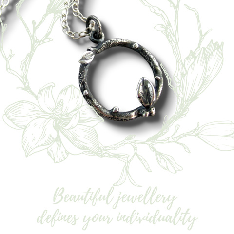 Julia Banks Christchurch designs & crafts intricate pieces in Sterling Silver