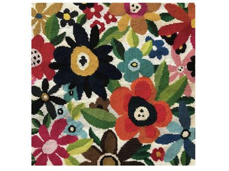 Julia Christian Tapestry Flowers Card