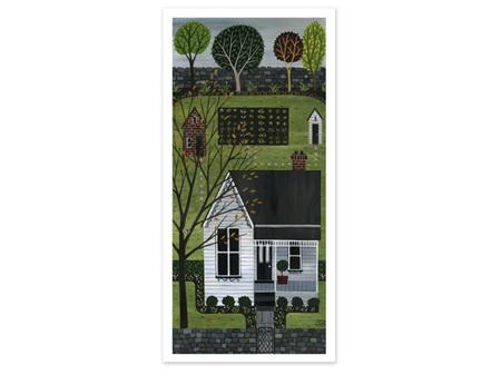 Julia Christian White Villa Card