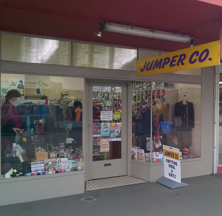 Jumper Co shop front