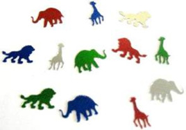 Jungle Animals Table Scatters 14g pack